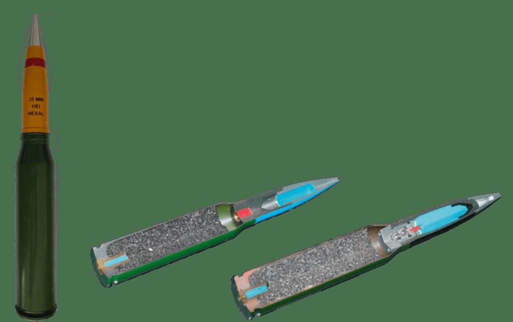 35mm Artillery Ammunition