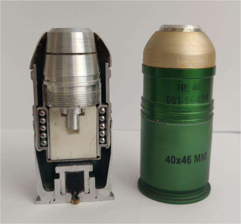 Grenade 40x46mm HE