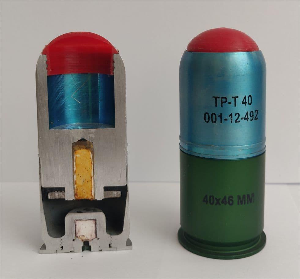 Grenade 40x46mm TP-T